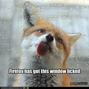 Firefox has got this window licked