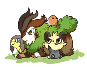The New Pokemon Looking Adorable