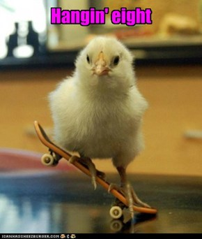 There's a new bird in skateboarding