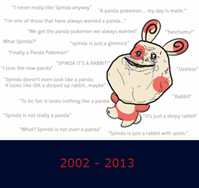 It's a Dark Time for Spinda
