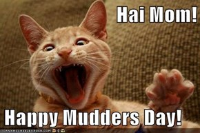 Hai Mom!  Happy Mudders Day!