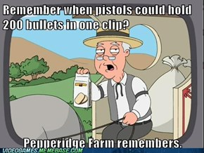 Ahhh old FPS weapons logic, how we loved you so.