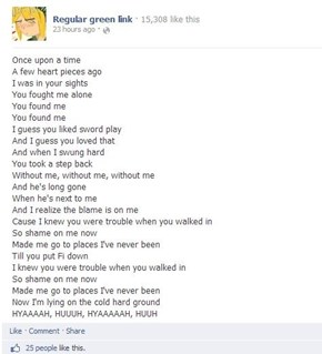 What if Link sang songs?