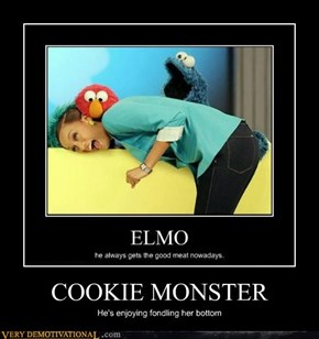 Bad Cookie Monster, Bad!