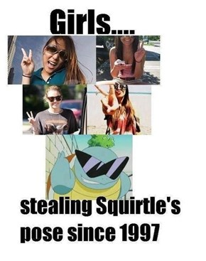 Girls Just Want to Be Part of Squirtle Squad
