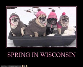 SPRING IN WISCONSIN