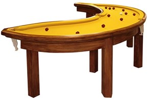 This Custom Pool Table Has Your Daily Dose of Potassium