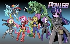 The Pony Avengers