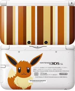The New Eevee 3DS LL Coming Out in Japan