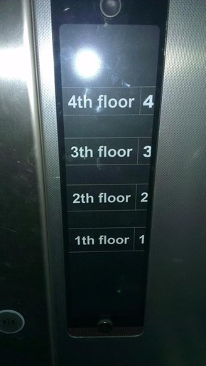 Where's the 0nd Floor Option?