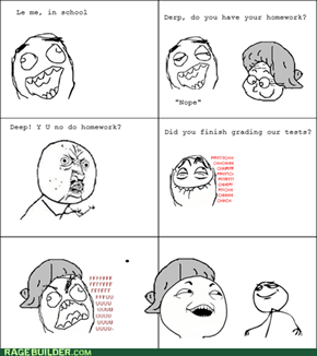 The epic teacher troll