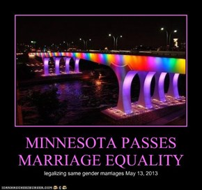 MINNESOTA PASSES MARRIAGE EQUALITY