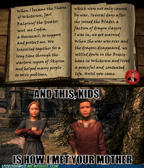Once upon a time in Skyrim
