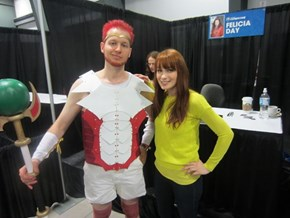 Felicia Day approved Male Codex