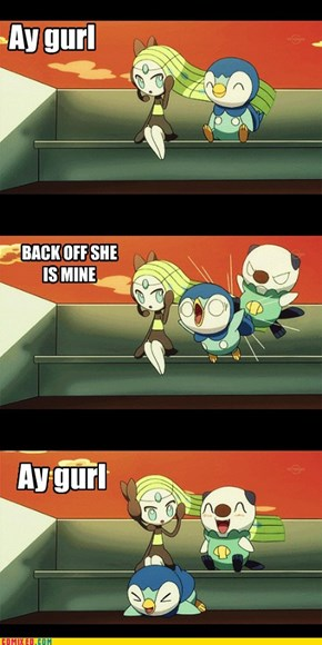 Pokemon were teenagers once, too