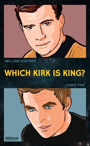 Who's Your Favorite Kirk?