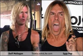 Duff McKagan Totally Looks Like Iggy Pop