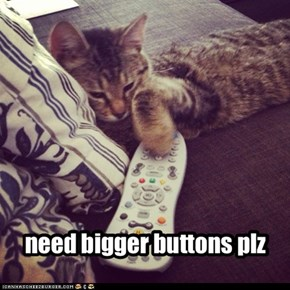 need bigger buttons plz