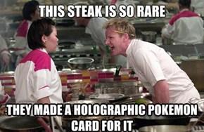 Charizard Grills a Mean Steak
