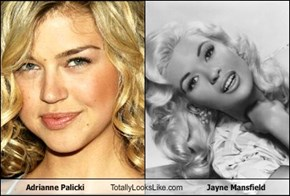 Adrianne Palicki Totally Looks Like Jayne Mansfield