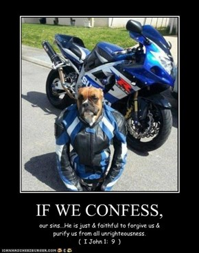 IF WE CONFESS,