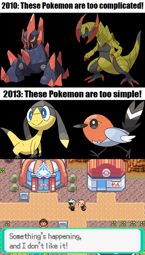 Game Freak Just Can't Win