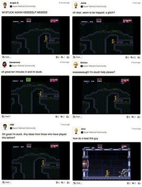 The Gamers of Today Seem to Be Struggling With Super Metroid