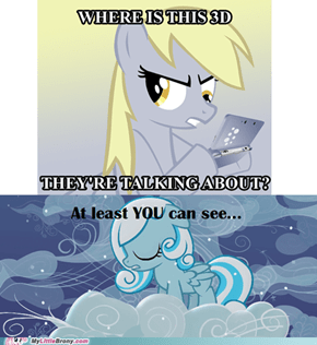 Re-framed: Be lucky for that Derpy.
