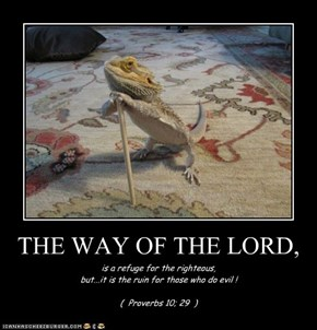 THE WAY OF THE LORD,