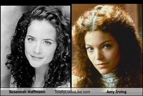 Susannah Hoffmann Totally Looks Like Amy Irving