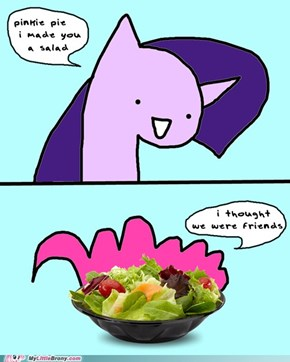 Making Friends Salad