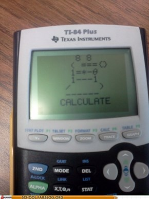 The TI-84 Dalek