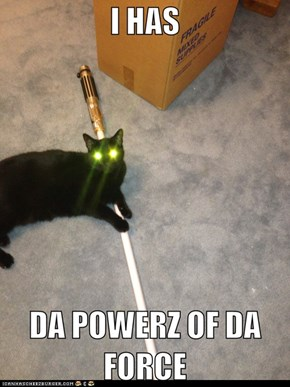 Darth Kitteh iz ur father