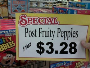 But are the Cocoa Pepples on sale too?