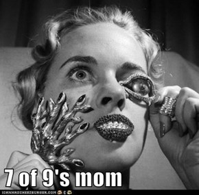 7 of 9's mom