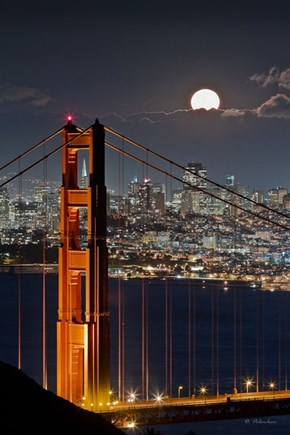 The Moon Over San Fran