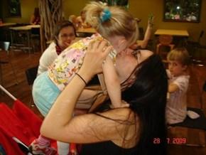 A loving moment...