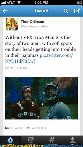 Iron Man Was a Whole Different Movie