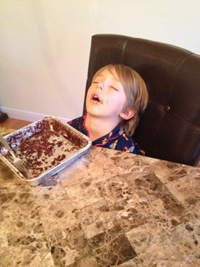 "That, Son, Is What We Call a ""Food Coma"""