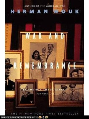 War and Remembrance - a sweeping saga of two families caught up in World War ll.  If you liked Gone with the Wind you should enjoy this.