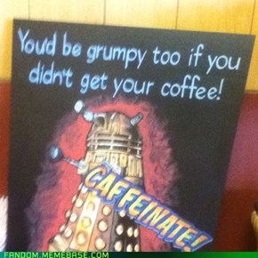 I could get along with this Dalek...