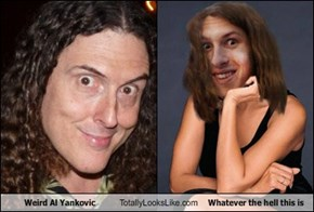 Weird Al Yankovic Totally Looks Like Whatever the hell this is