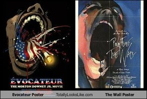 Evocateur Poster Totally Looks Like The Wall Poster