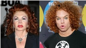 Jackie Stallone Totally Looks Like Carrot Top