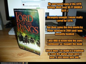 LOTR - One of my most favorite books EVAR!