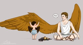 Baby Cas is Awfully Cute