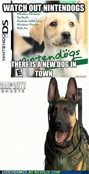 dog of duty: waggle your tail edtion