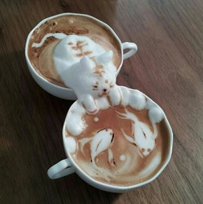 This Latte Art is Out of Control!