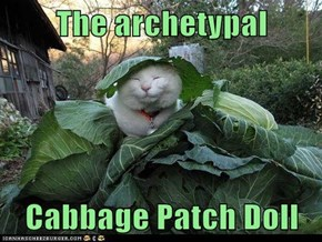 The archetypal  Cabbage Patch Doll
