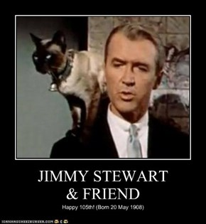 JIMMY STEWART & FRIEND